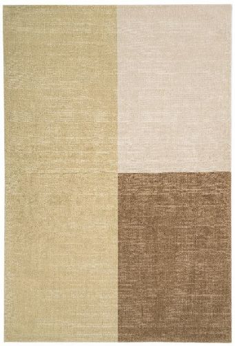 Blox 100% Pure Wool Natural Rug